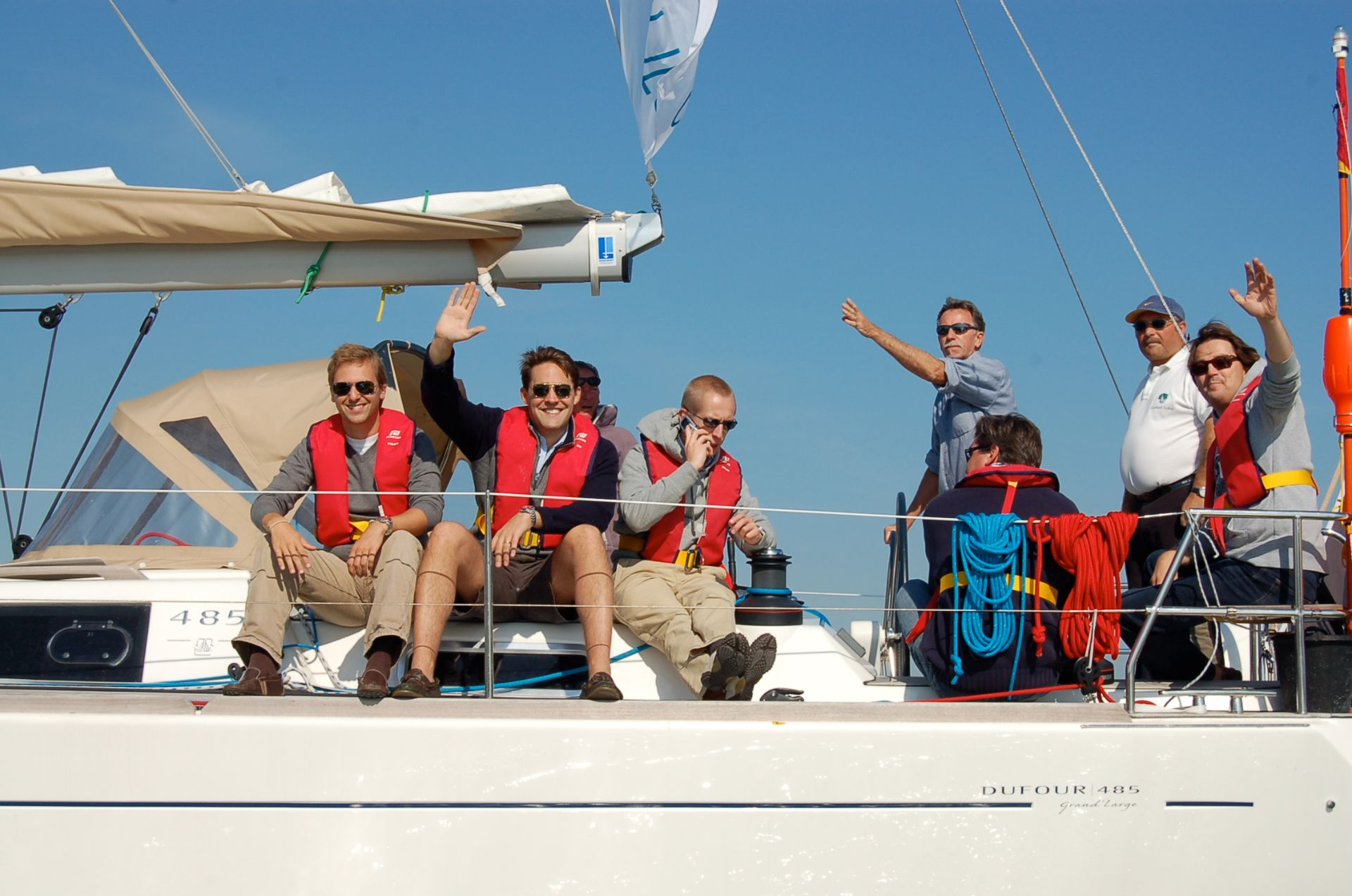 Interactive sailing by Nuquest events