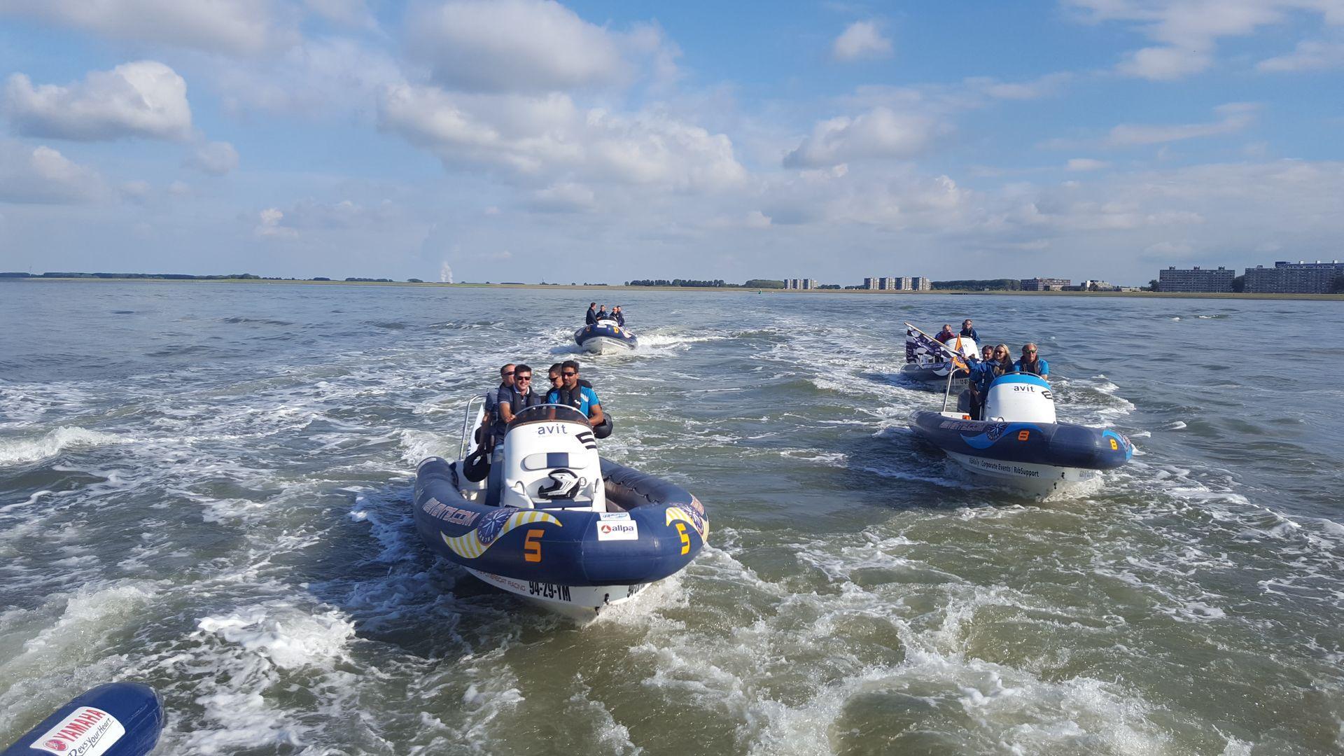 RIB boot varen met Nuquest events
