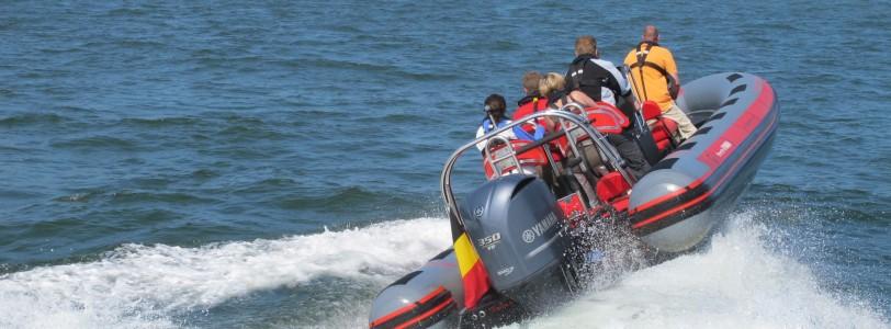 RIB-boot varen met Nuquest
