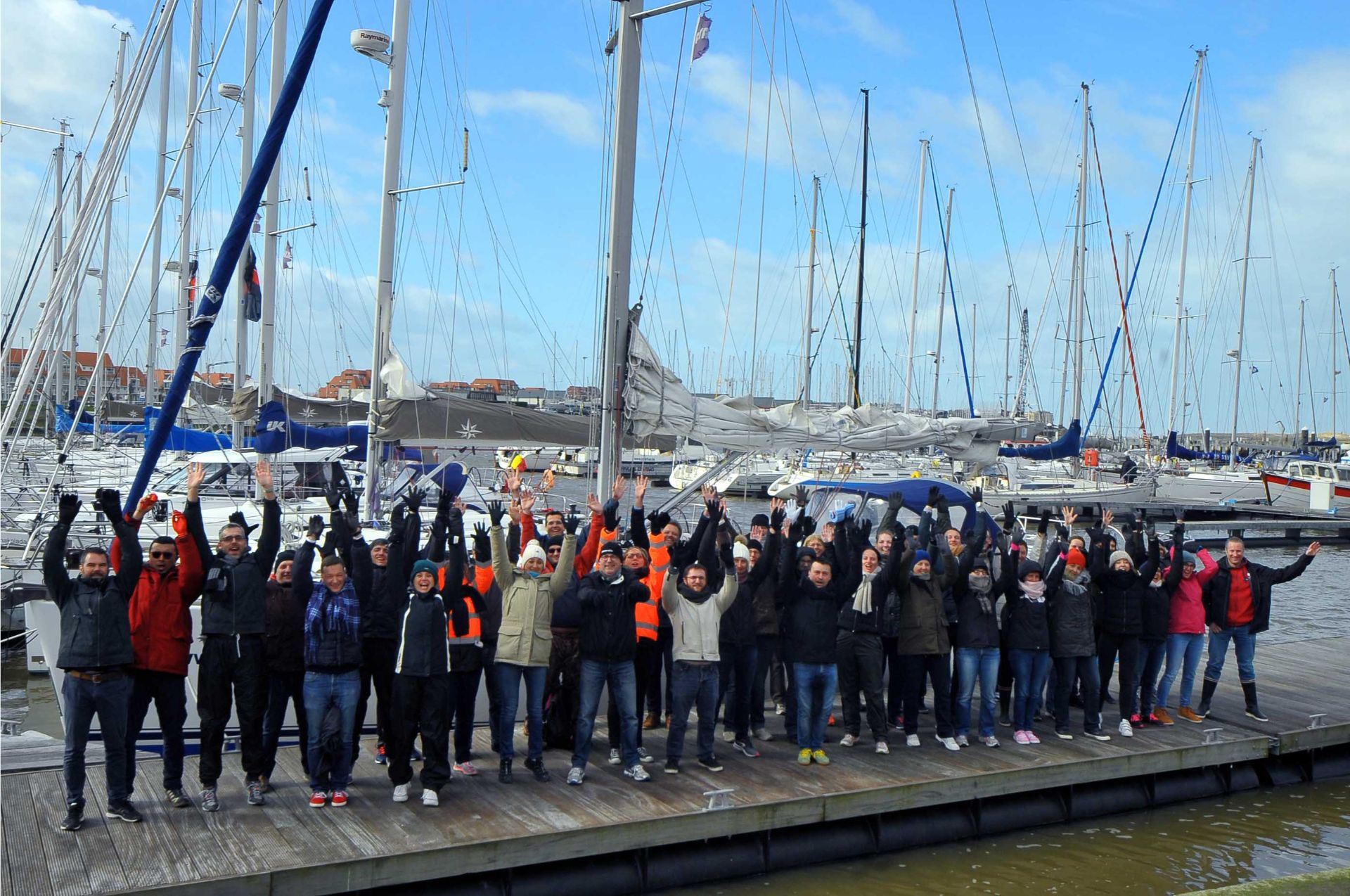 Sail challenge with the whole company by Nuquest