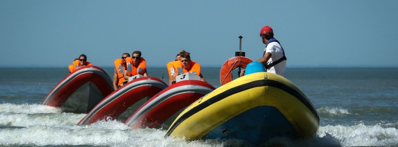 Wavekarting met Nuquest we varen uit