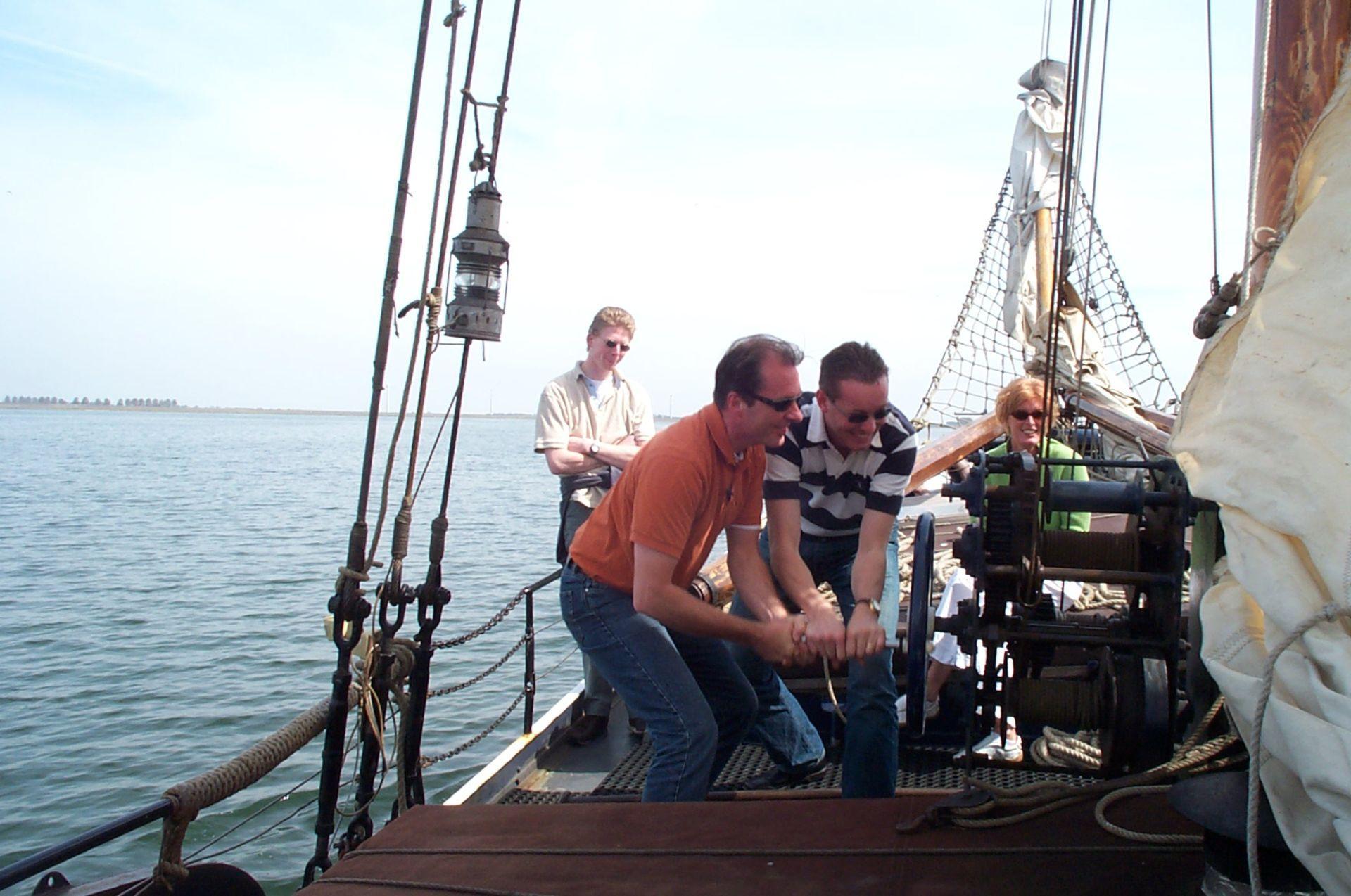 Nuquest Events: cooperation sur une chalouppe hollandaise avec Nuquest
