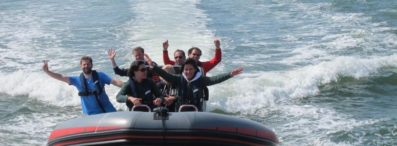 expérience bateau semi-rigide offshore avec Nuquest