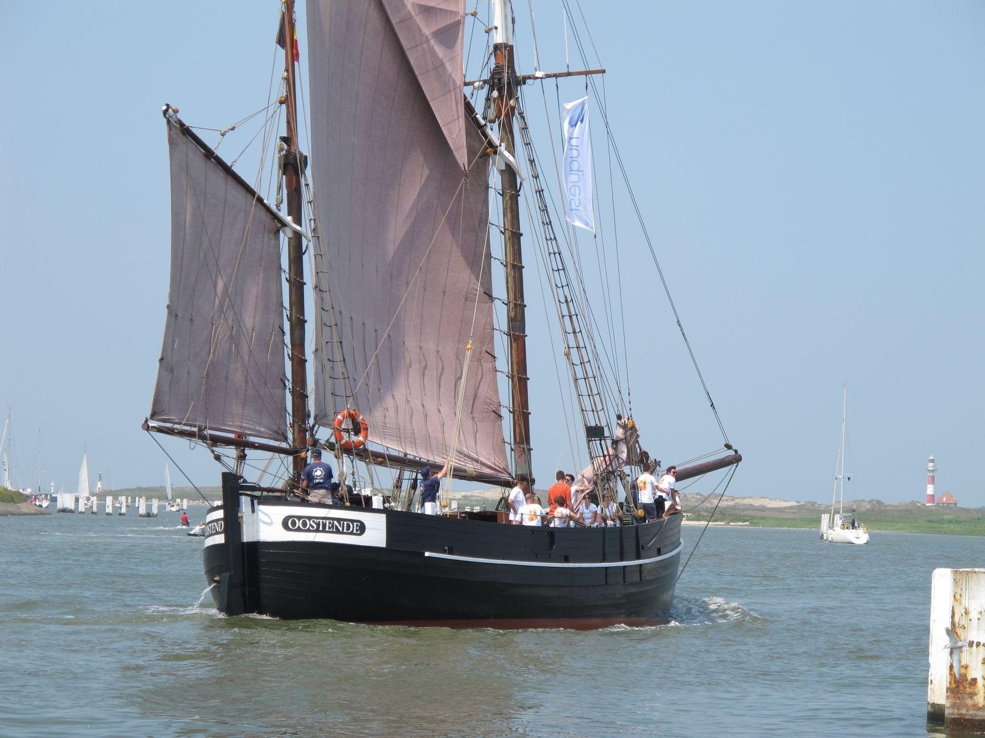 klipper sailing 25 personen met Nuquest