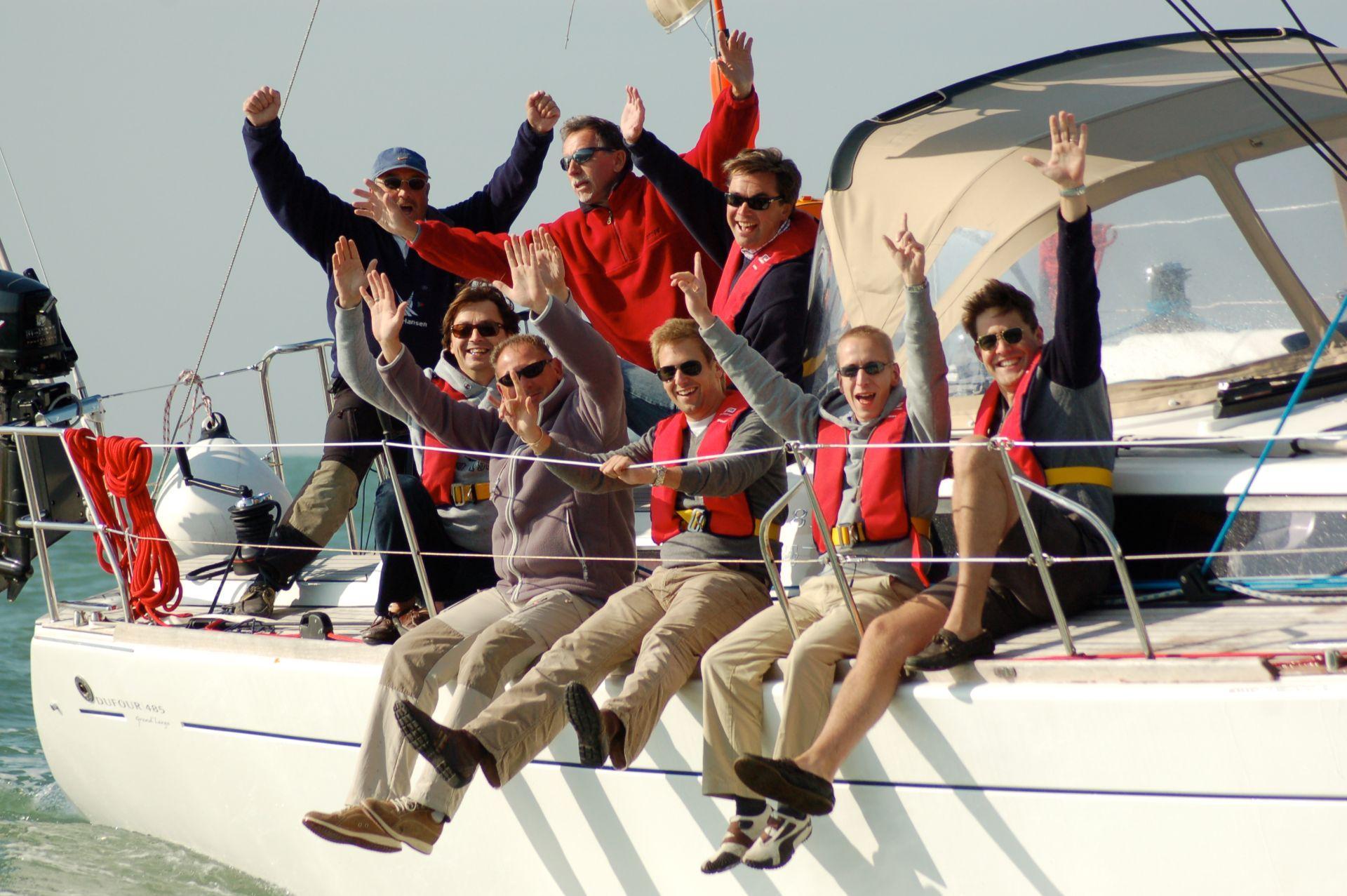 winning the regatta with Nuquest